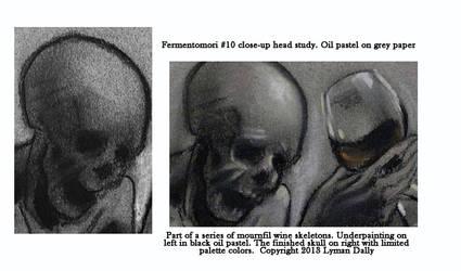 Fermentomori #10 head studies by LymanDally