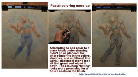 Pastel mess-up