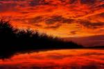 Ballybofey's Sunset by medinka
