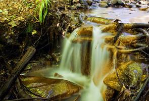 Waterfall by medinka