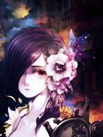 Touka's sorrow by Chocobo974