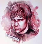 Watercolor - Dean Ambrose.