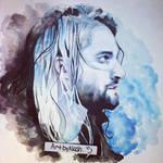 Watercolor - Seth Rollins