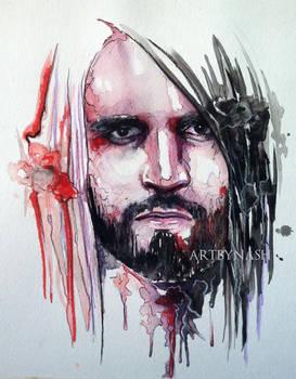 Seth rollins - Watercolor