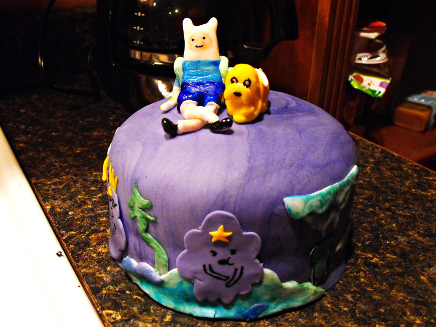 Adventure Time Cake Wip By Lmp92 On Deviantart
