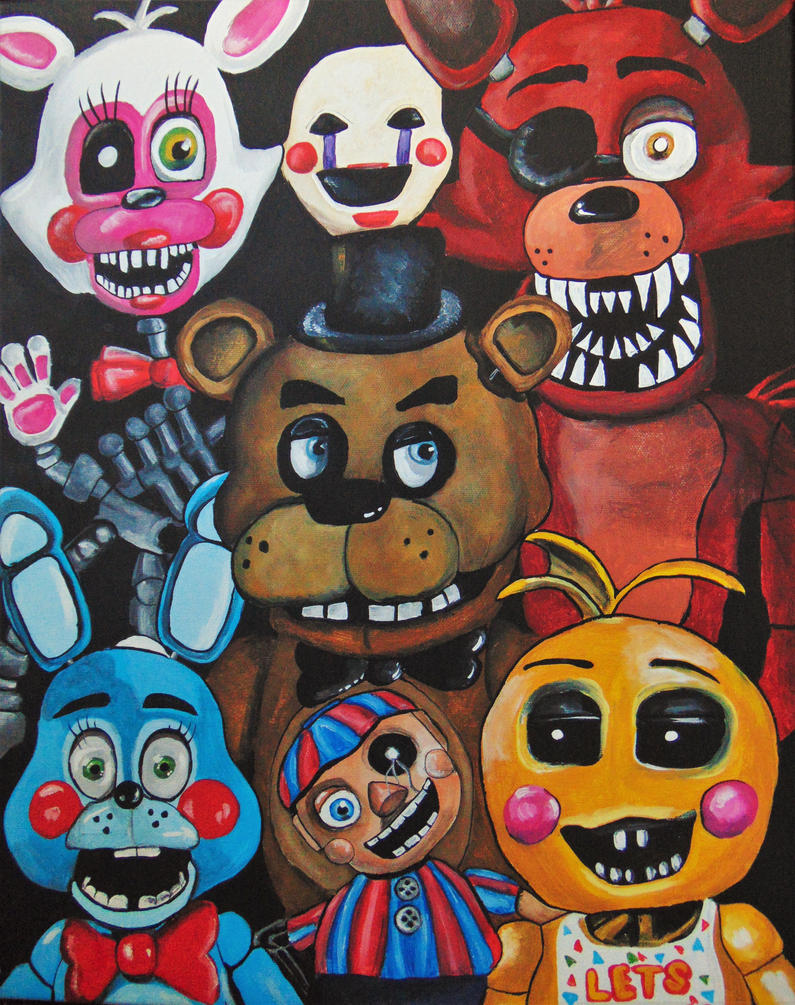 Five Nights at Freddy's by lmp92