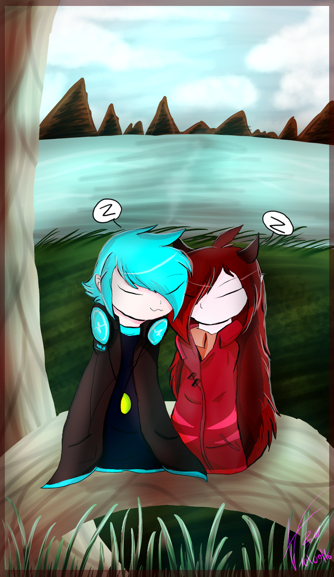 by the river (RP) by brenstar345