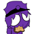 Kawaii Purple Guy Icon Ver