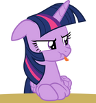 Twilight Sticking Tongue Out
