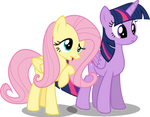 Twilight And Fluttershy