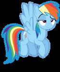 Rainbow Dash Not Impressed