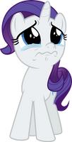 Filly Rarity Crying