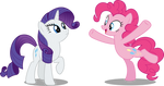 Pinkie and Rarity