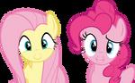 Weird Right? Fluttershy Pinkie