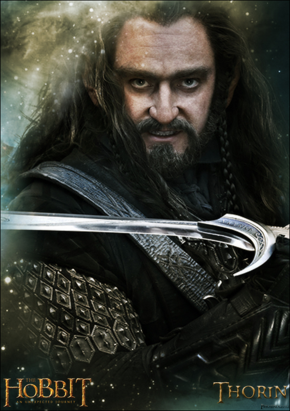 The Hobbit - An unexpected Journey - Thorin by YoungPhoenix3191