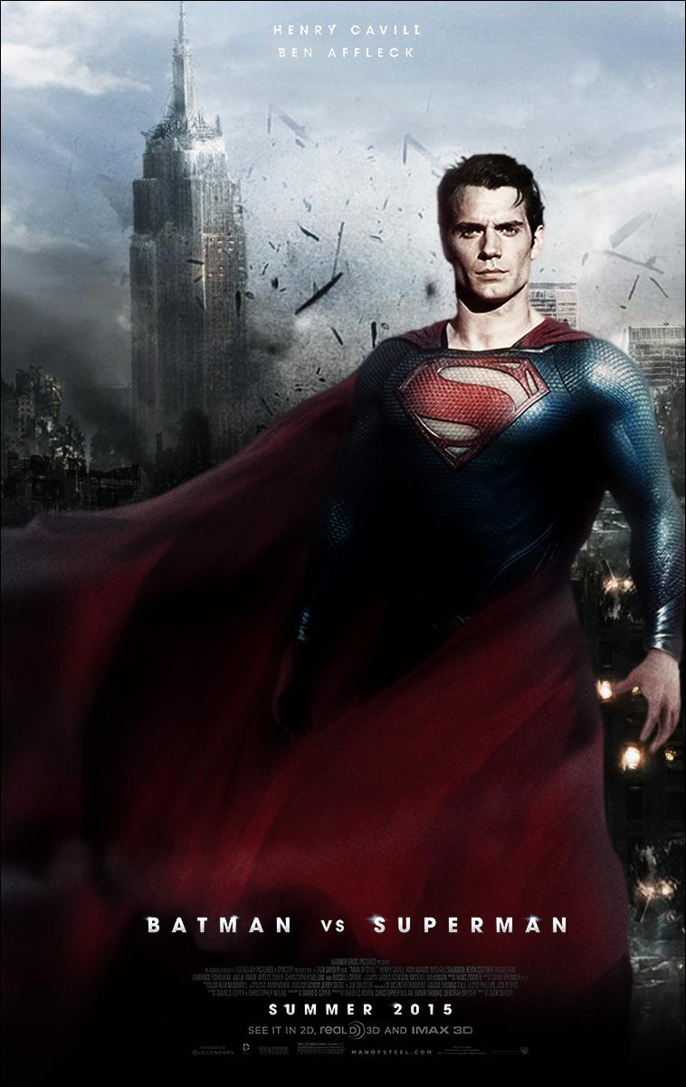 Batman Vs Superman Movie Poster 2 by YoungPhoenix3191 on ...