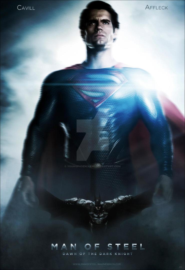 Man Of Steel And Dark Knight