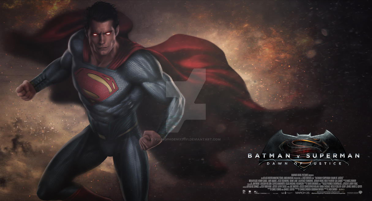 Batman V Superman - Dawn of Justice 1 by YoungPhoenix3191