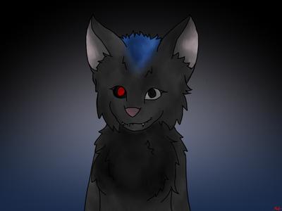 I got bored again :/ by CyberWolf-Jasper