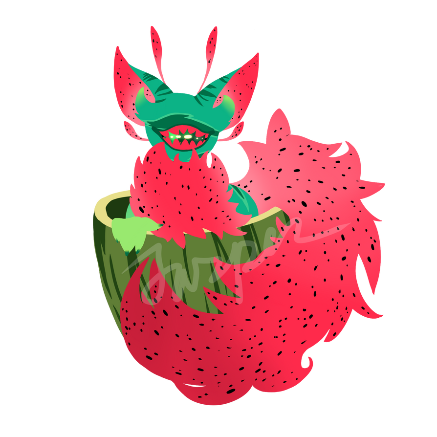 WATERMELON CCCHILD by CyberWolf-Jasper