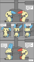 Plusle and Minun Tickled Part 1
