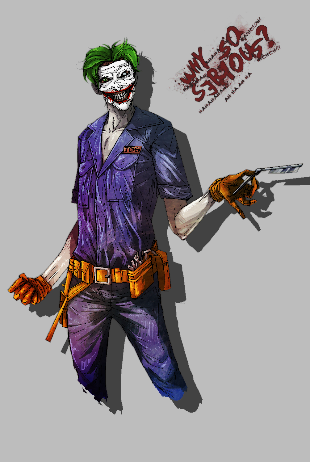 Joker New52 by flaiil on DeviantArtNew 52 Joker Wallpaper