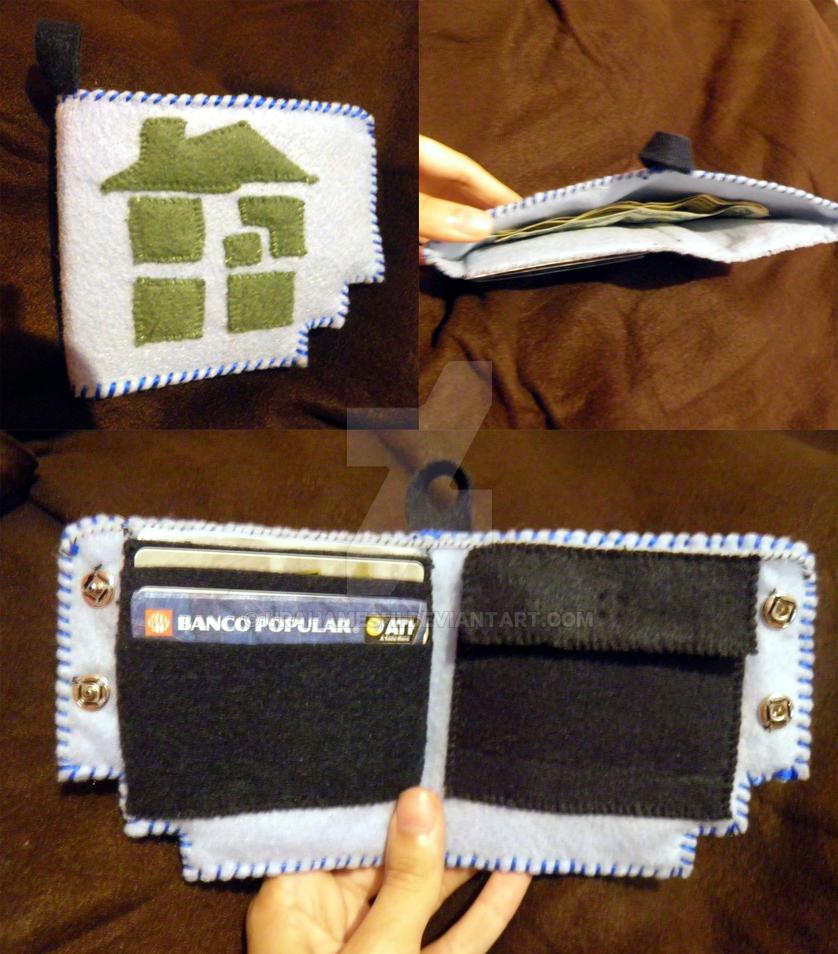 HomeStuck Wallet by UraHameshi
