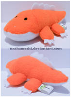 Orange Crocodile For Sale by UraHameshi
