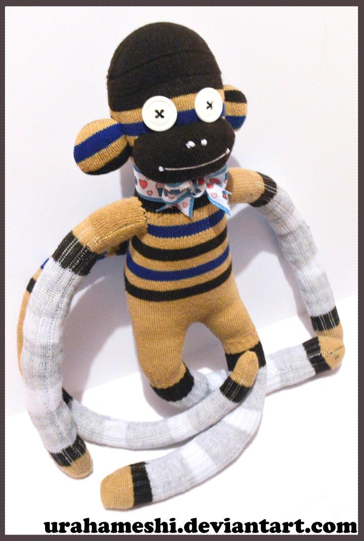 Sock Monkey For Sale by UraHameshi