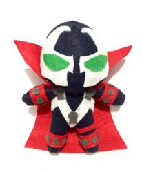 Spawn Chibi 6.5inch Plush Handmade For Sale by UraHameshi