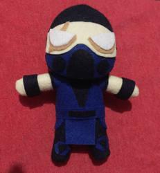 Mortal Kombat Sub-Zero 6.5inch Plush For Sale by UraHameshi