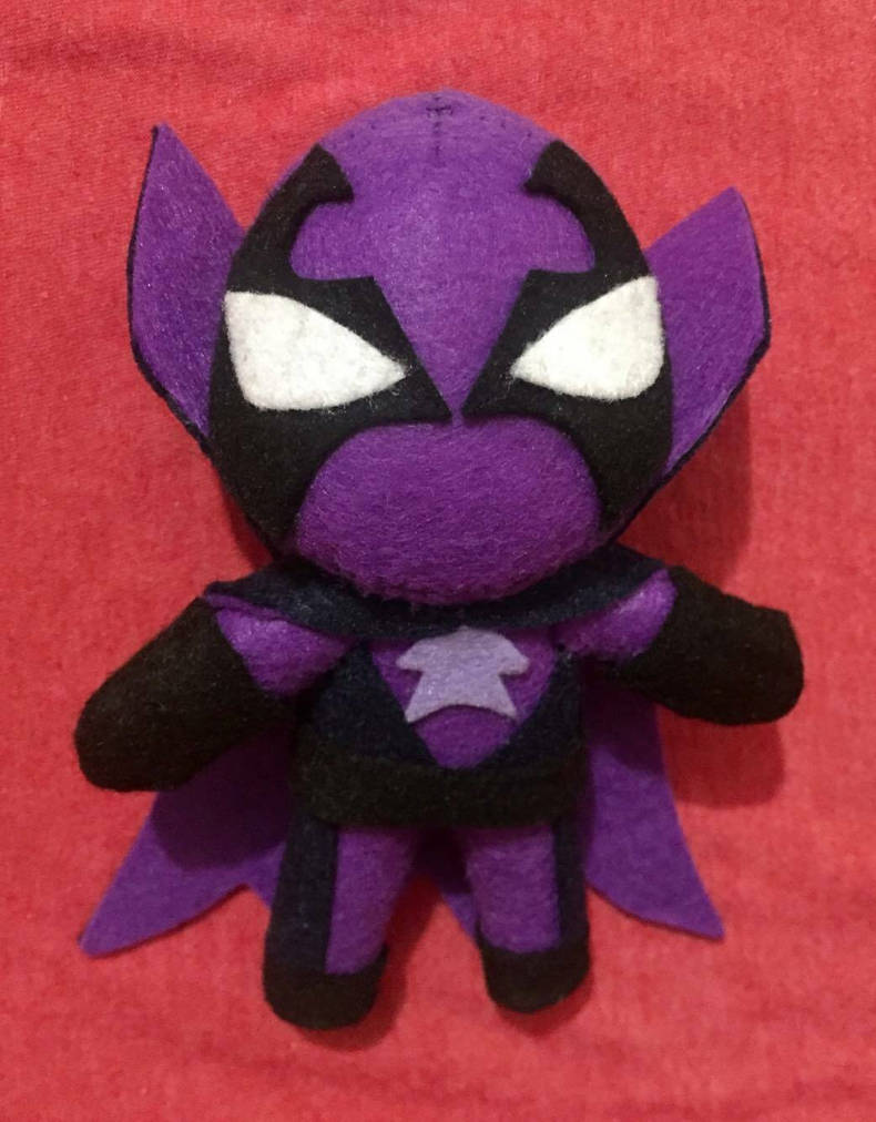 Spider-Verse Prowler 6.5inch Plush For Sale by UraHameshi