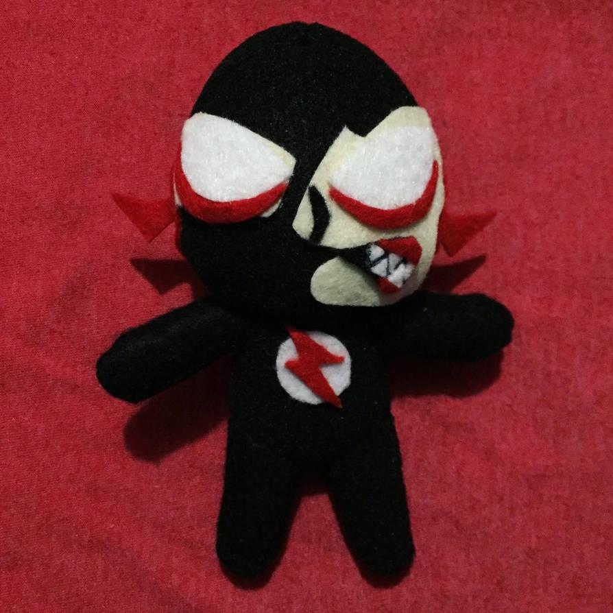 Black Flash Chibi 6.5inch Plush For Sale by UraHameshi