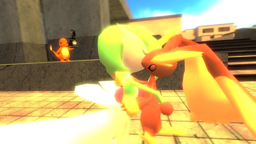 Gmod Yuri Pokemon Love By Atomiclugia On Deviantart