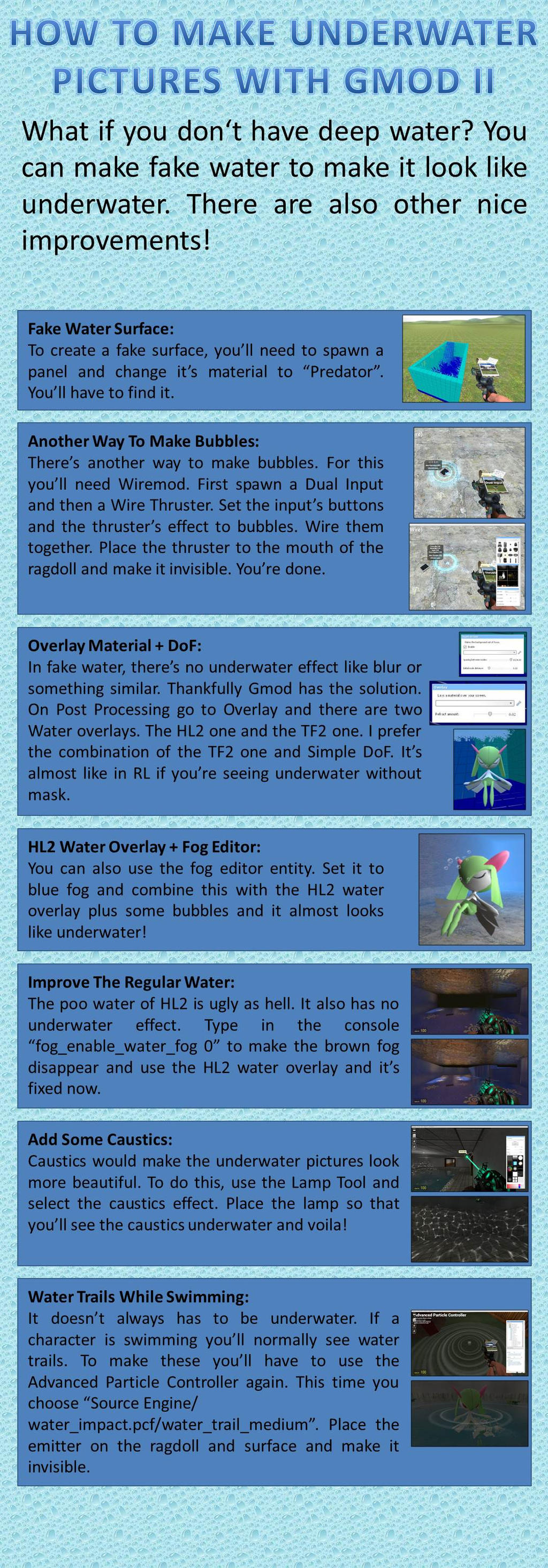 How to make underwater pictures with GMod II by AtomicLugia