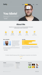 Selfy Retina Ready WP by webdesigngeek