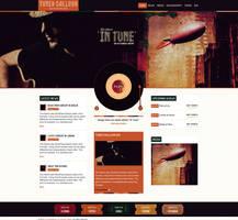Music WordPress Theme by webdesigngeek