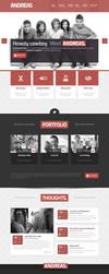 Andreas WordPress Theme by webdesigngeek
