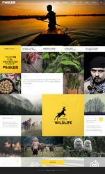 Hiker WP Photography Theme
