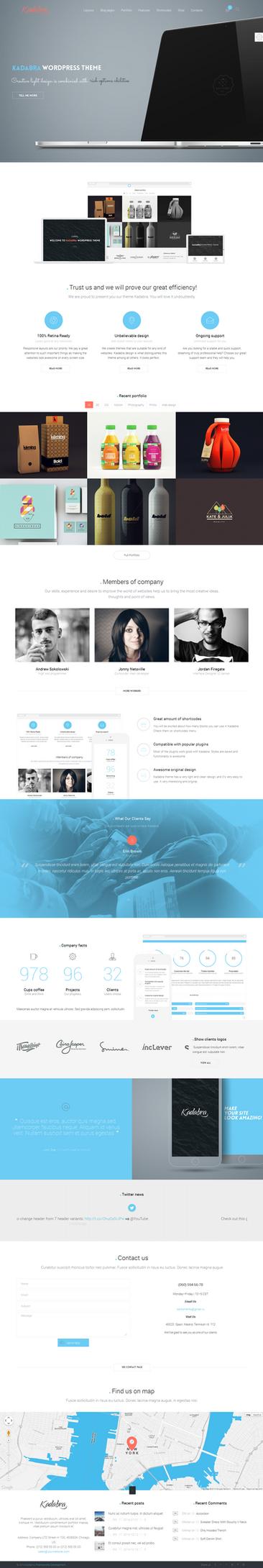 Kadabra Web Template by webdesigngeek