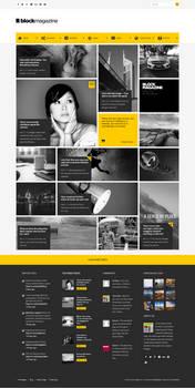Flat and Minimalist Blog Theme