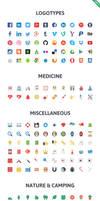 Flatilicious (Presale) - 1000 icons by webdesigngeek