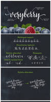 Veryberry Script Font