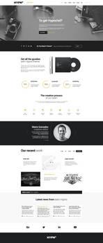 Hypno - Modern, Responsive WordPress Theme by webdesigngeek