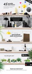 Mockup Scene Creator - Desk edition by webdesigngeek