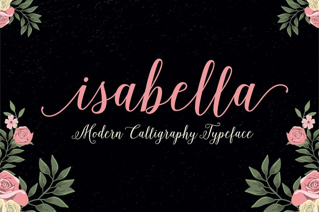 Isabella Script by webdesigngeek
