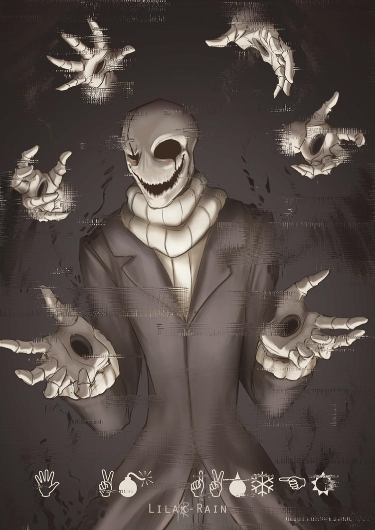 The man who speaks in hands by Lilak-rain