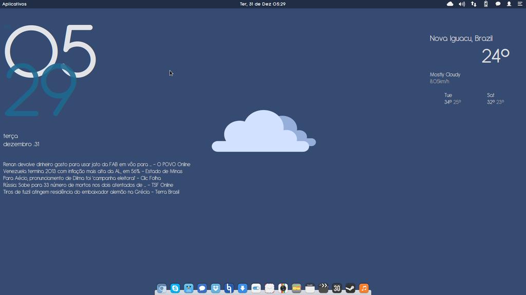 Elementary OS Luna by gabriellemos21