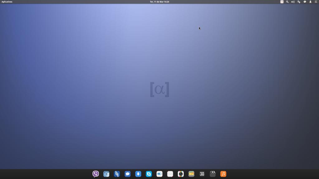 Custom elementary OS Luna desktop by gabriellemos21