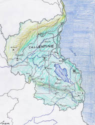 The Kingdom of Callentine by contrail09